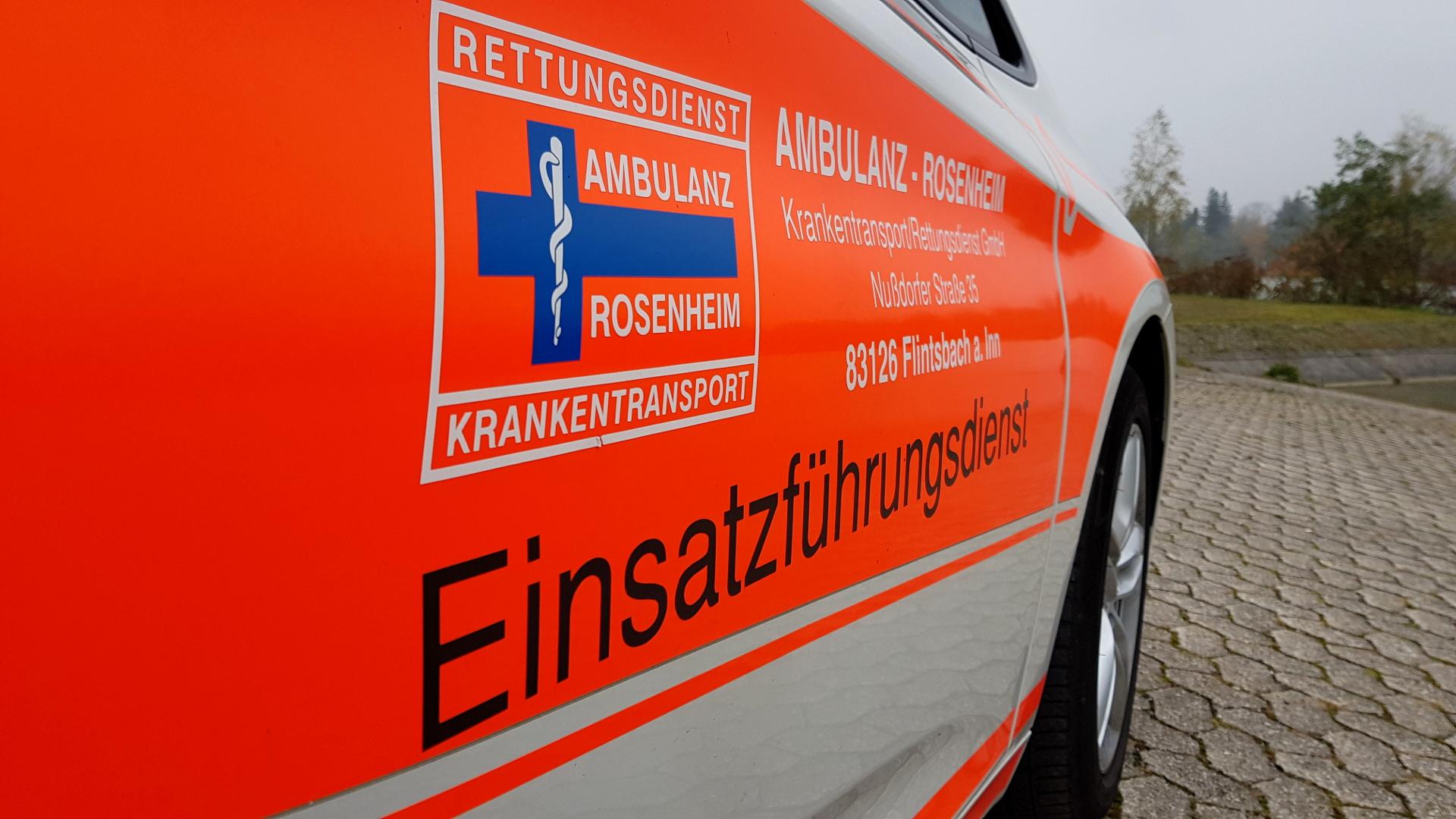 Einsatzführungsdienst Ambulanz Rosenheim