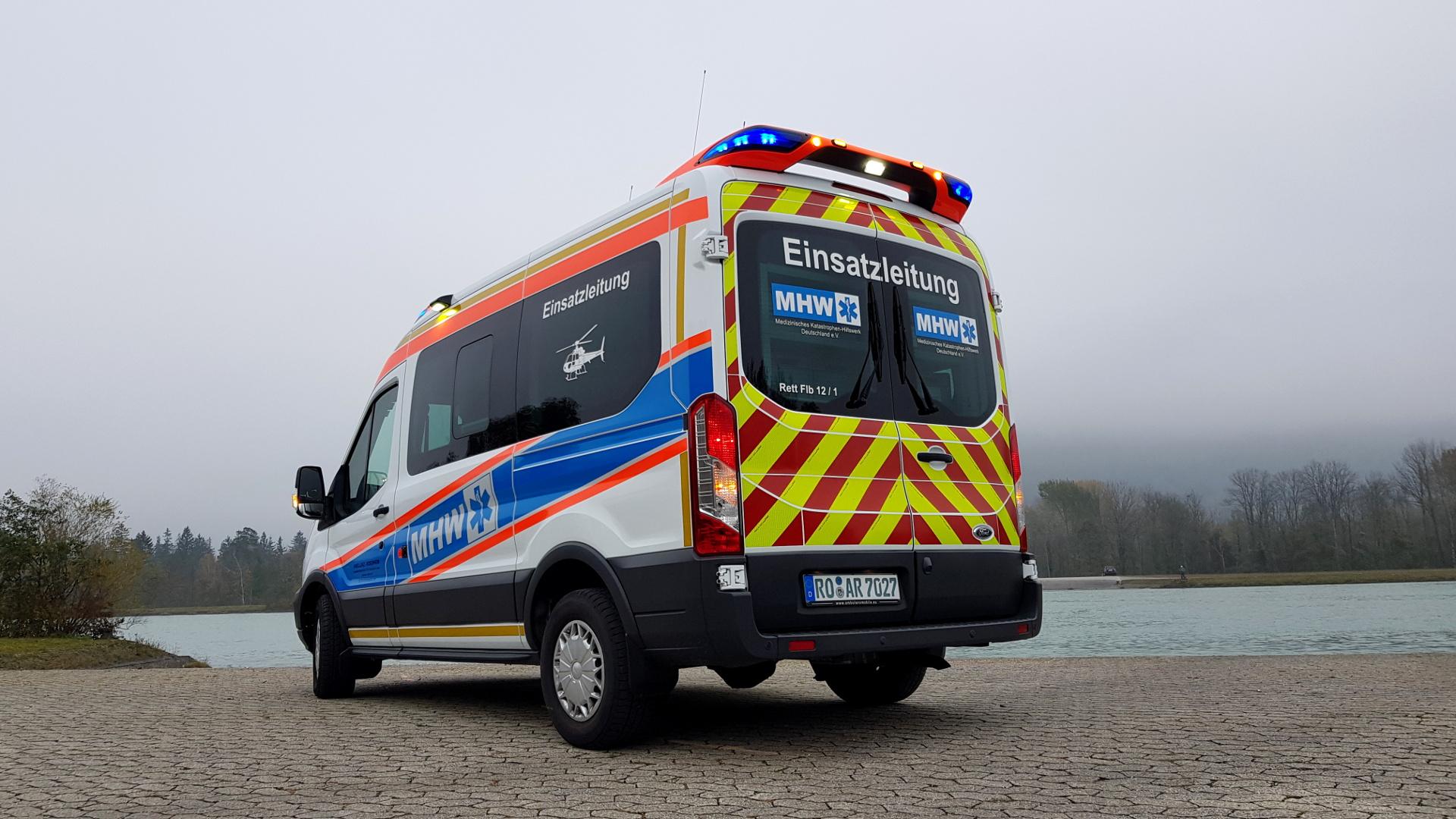 Einsatzleitwagen Ambulanz Rosenheim