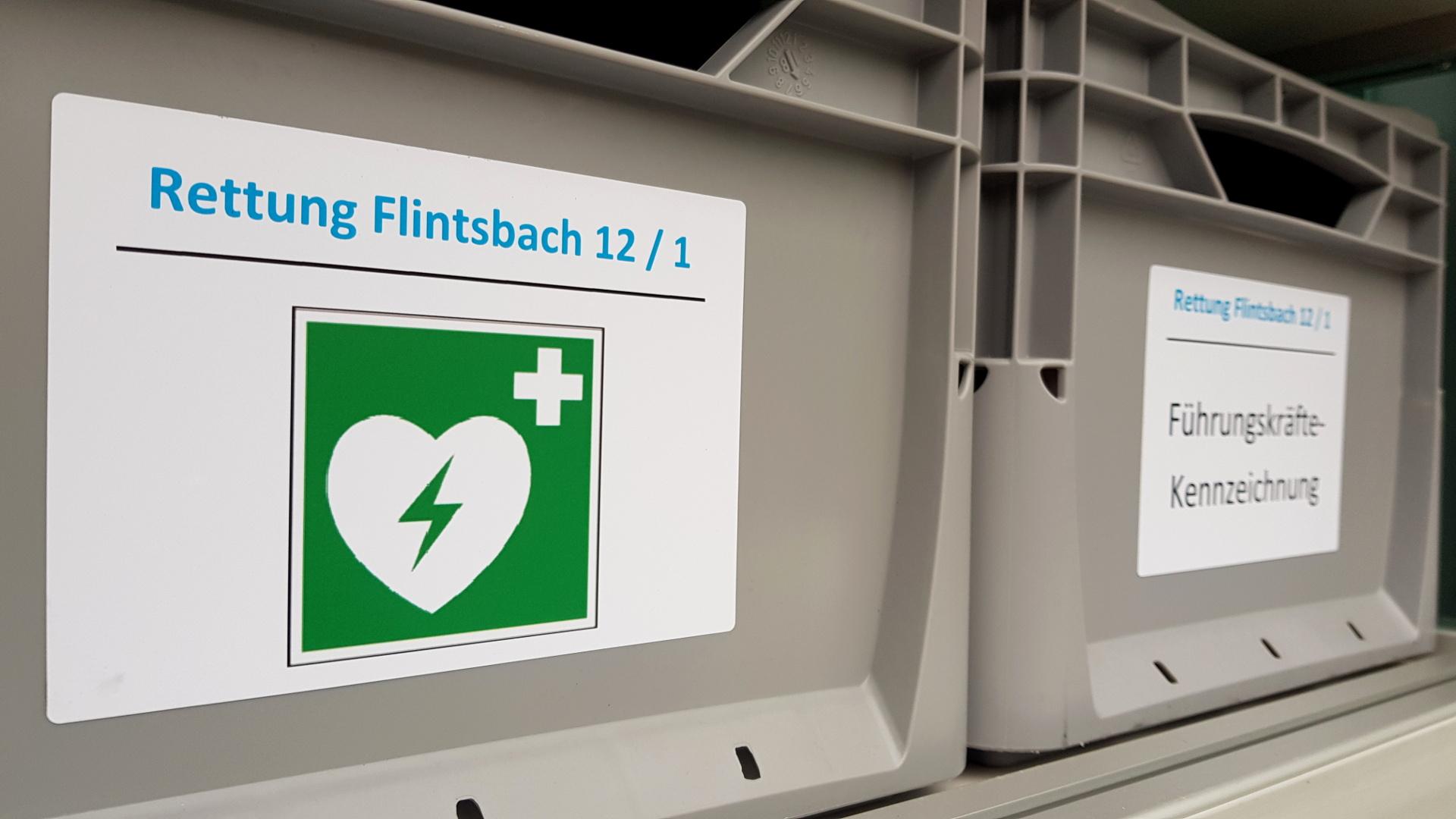 Defibrillator Ambulanz Rosenheim