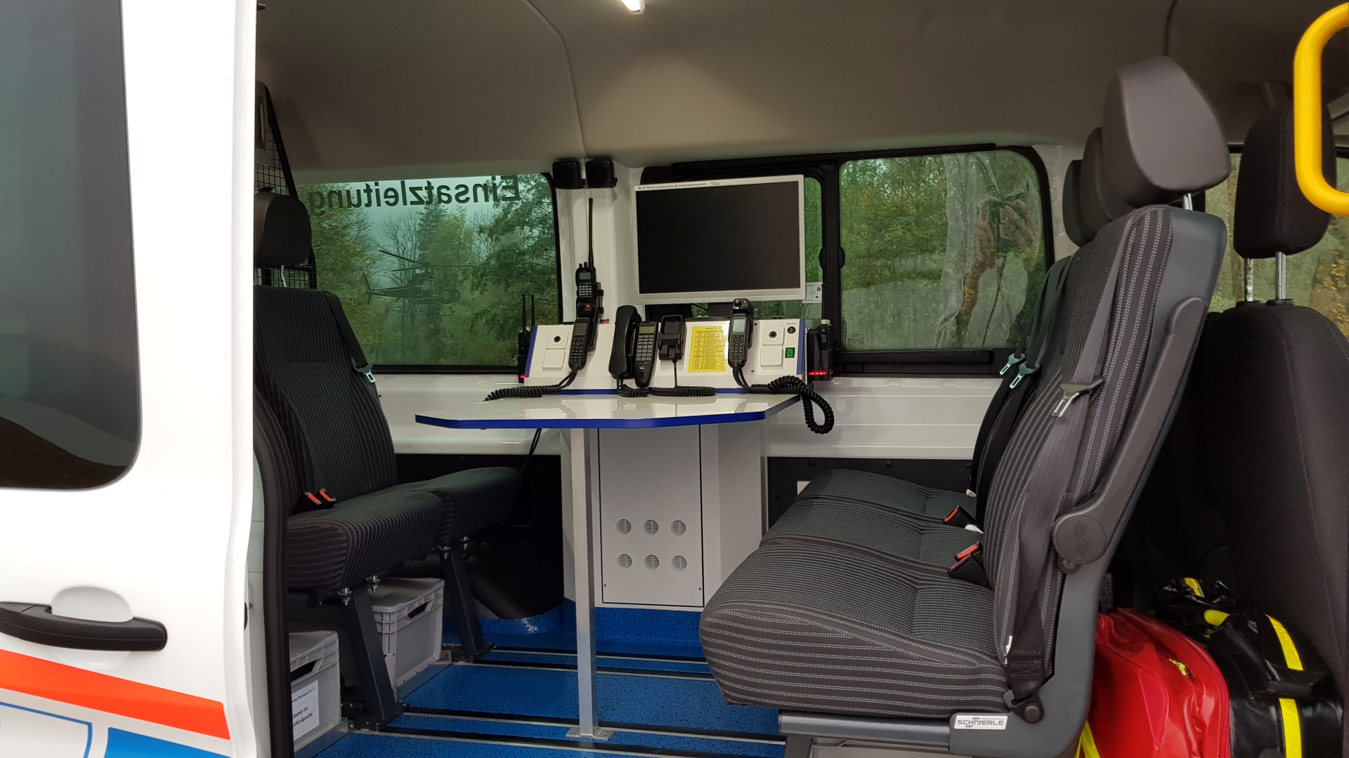 Digitalfunk PC Notfallrucksack Ambulanz Rosenheim